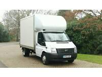 FORD TRANSIT LUTON LWB 2013 6 SPEED TAIL LIFT FSH MERCEDES SPRINTER IVECO DAILY