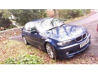 BMW 330i M SPORT, Good service History, 6 speed 230bhp, full spec, Leather, Sat Nav,Cruise, Alloys
