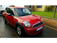 2011 Mini One 1.6D, Diesel, 3dr, Red, Low miles, Zero Road Tax, Alloys, not bmw 116