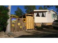Mobile home France. Directly near the sea