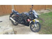 Lexmoto XTR, XTRS, XTR-S, 125cm3, 2013, low mileage, perfect technical condition