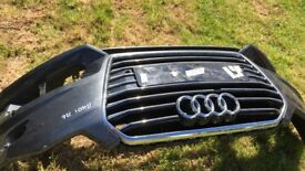 AUDI A6 S LINE S6 2015-2018 FRONT BUMPER (WELDED SEE PHOTOS)