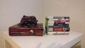 Xbox 360 Gears Of War 3 Edition 320GB HDD + Games