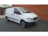 2007 Mercedes-Benz Vito 109 CDI Compact SWB 2.2 Basic Panel Van No Vat 12 Months M.O.T