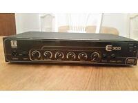 Eden E300 Bass Head Amplifier w Gator Gig Bag and leads