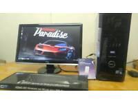 GAMING GTA - Dell XPS Quad Core Desktop Computer PC With Samsung 22