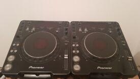 Pair of Pioneer CDJ 1000 mk3