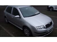 SKODA FABIA AMBIENTE 1.2 HTP NEW CLUTCH , RECENTLY SERVICED HPI CLEAR 2 KEYS, ELDERLY OWNER CAR