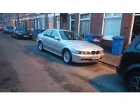 BMW 525i E39 AUTOMATIC PETROL 192BHP IN MINT CONDITION MOT 6MONTH MAY P/X