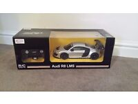 Audi R8 by remote control! This R/C car has full steering and classic Audi design. brand new!!