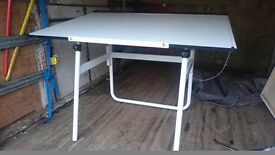 A0 Adjustable Architects Drawing Drafting Board Table Desk