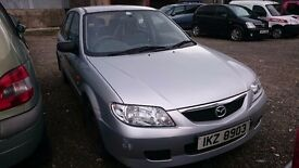 2002 MAZDA 323F GXI, 1.6 PETROL, BREAKING FOR PARTS ONLY, POSTAGE AVAILABLE NATIONWIDE