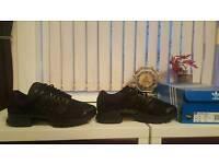 Adidas triple black climacool trainers