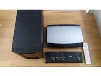 BOSE LIFESTYLE AV18 HOME THEATER MEDIA CENTRE with PS18 + VS2 Video Enhancer