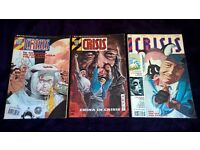2000AD Crisis Issues 41, 42, 51