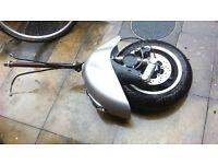 VeSpA GTS 300 2012 Suspension Forks / Front Wheel / Brake Calliper / fit vespa Gt 125 200 gts300