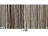 Two Natural Willow Screens (H)2m (W)4m