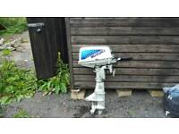 Suzuki 8hp outboard engine