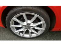 "Audi 18"" alloys and tyres like new"