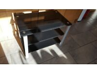Glass TV Stand, 70 cm wide x 42 cm deep x 50cm tall