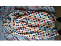 Morrck All Seasons hoodie size 2, multicoloured dot.