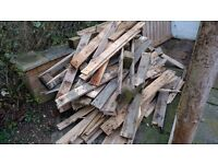 Broken up pallet wood / firewood / projects