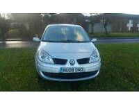Renault grand scenic 2008 7 seater long mot hpi clear excellent drive