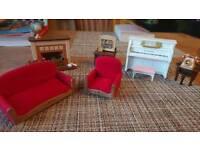 Sylvanian families living room set
