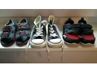 Baby shoes (sizes 4-5) Converse, Clarks, Primark
