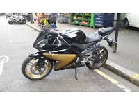 YAMAHA YZFR125 £1.750 MOT PASSED UNTIL 28/09/17