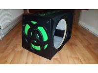 Fusion 12 inch car subwoofer box