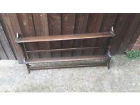 Ercol plate shelf