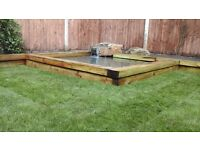 Fencing, Flagging, Patios, and Driveways and Gardens, Mini Digger Hire