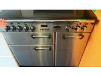 Leisure 90cm wide electric range cooker for sale. Free local delivery