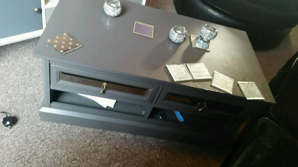 Grey Lauren coffee table