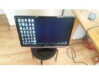 "LG MONITOR 22"" FLATRON model W2252TQ-PF Widescreen LCD good condition and fully working"