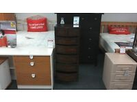 Antique Tall Chest of Drawers BRITISH HEART FOUNDATION