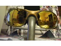 Oakley X-Metal XX Sunglasses 24K Gold BRAND-NEW LENSES Romeo Juliet XX Penny Pit Boss