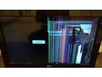 "URGENT Damaged 26"" LG TV"