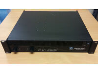 Peavey PV2600 Watt Stereo Power Amplifier with built in Cross Over Save £250 New