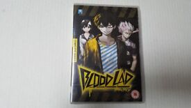 blood lad, anime dvd. £25. brand new.