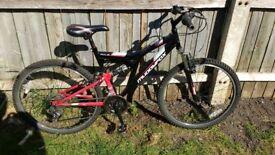 Muddy Fox Suspension Bike