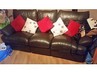 3 & 2 seater sofa £100!!