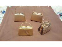 Handbags bundle sparkly party clutch bags