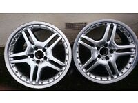 AMG Alloy Wheels