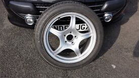 MERCEDES S CLASS , ALLOY WHEEL AND MICHELIN TYRE