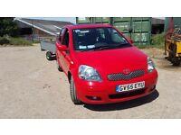 Toyota yaris d4d 1.4 diesel,£30yr rd tax 70mpg,cheap ins,bluetooth 180w stereo,a1 conditition