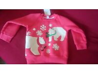 Christmas jumper 2-3 years old brand new
