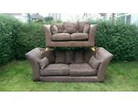 Fabric sofa ( free delivery )