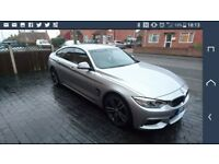Immaculate 4 Series Silver Gran Coupe M Sport BMW